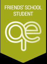 Quaker school student