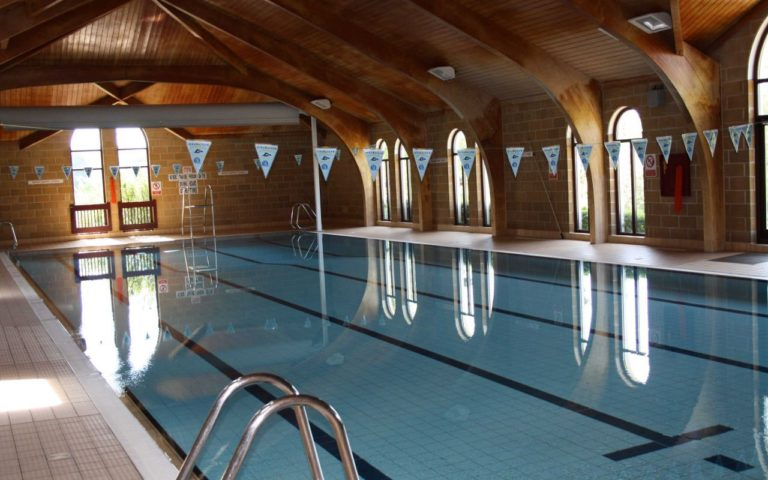 Swimming pool at Sidcot School