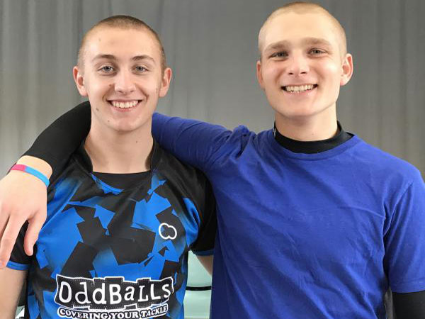 Quaker Students shaved heads to raise money for OddBalls Foundation