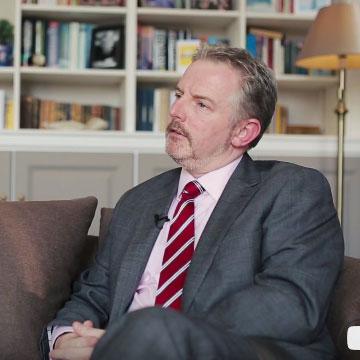 Iain Kilpatrik, Headmaster of Sidcot School