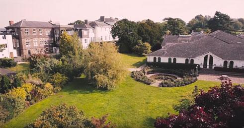 Sidcot School in Winscombe near Bristol