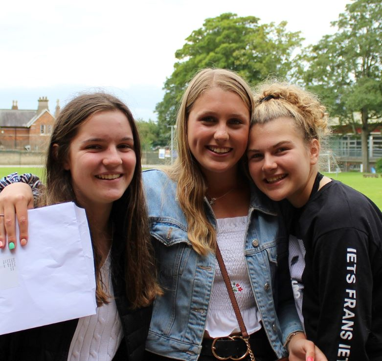 Mount girls celebrate GCSE excellence