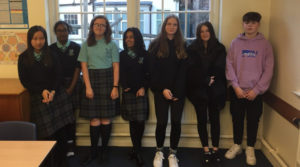 Bootham School's Christian Aid fundraiser team