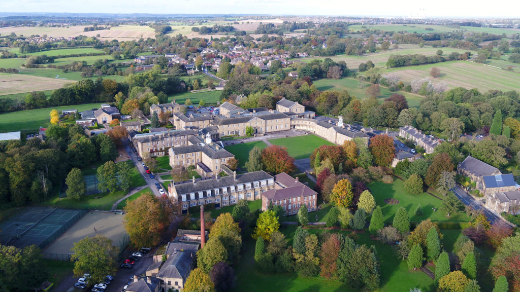 Ackworth School building and grounds