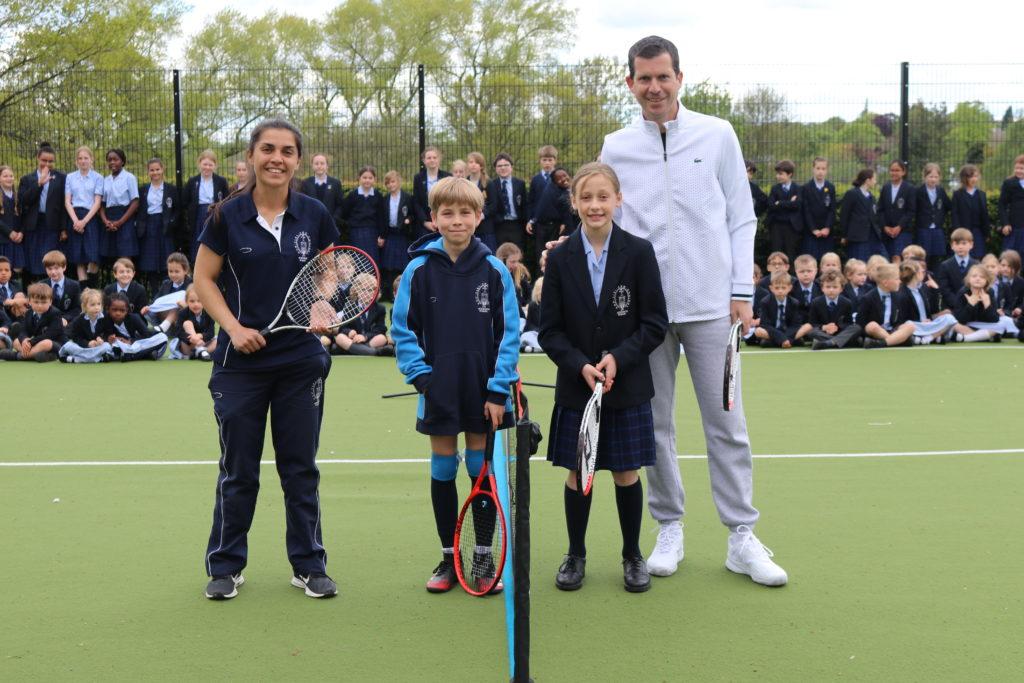 Tim Henman inspires tennis lessons