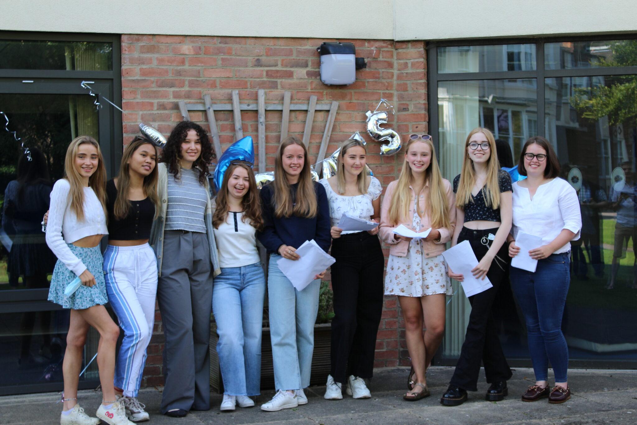 Mount School Pupils celebrate outstanding GCSE results