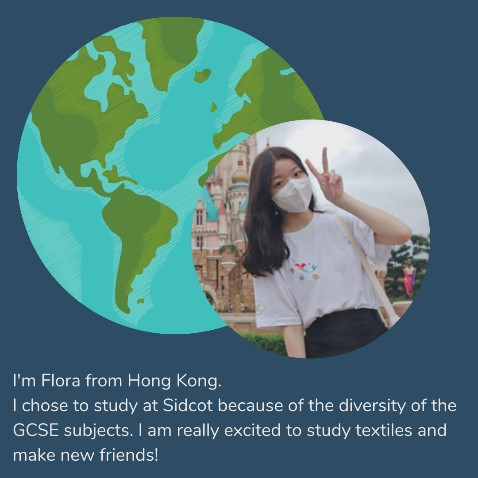 Sidcot international student profile 2